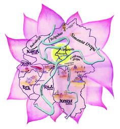 Islands of Devotional Service   Navadvipa Mandala Parikrama. A clear instructive guide for parikrama and the history of each place
