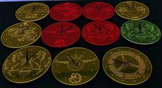 Εκπληκτικά ρολόγια τοίχου από plexiglass σε διάφορα χρώματα #clocks, #lasercut, #lasercutting, #kopeslaser,