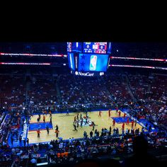 Wells Fargo Center March 21, 2012. Sixers vs. Knicks.