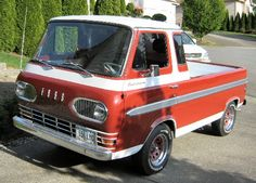 Ford Econoline. This is my favorite paint job.
