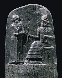 巴比倫-漢摩拉比的法典碑