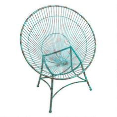Saint-Tropez Sculptural Metal Hoop Garden Chairs Was: $325.00           Now: $249.00