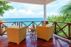 View from out Valentine Suite - Scuba Lodge