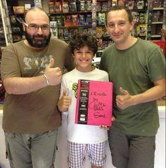 Boss&Sca con Riccardo Ghezzi: album autografato!