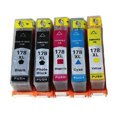 5pcs for hp178 Refillable Ink Cartridges for HP 178 178XL with chip hp 6510 B010B B109a B109n B110a B210b B209a B210a 3070A Nail That Deal http://nailthatdeal.com/products/5pcs-for-hp178-refillable-ink-cartridges-for-hp-178-178xl-with-chip-hp-6510-b010b-b109a-b109n-b110a-b210b-b209a-b210a-3070a/ #shopping #nailthatdeal
