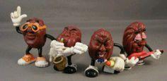 80's Nostalgia- The California Raisins I loved these