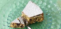 Capri-inspired chocolate almond cake