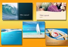 Amazing Ocean Background Templates for PowerPoint