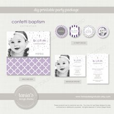 Hey, I found this really awesome Etsy listing at https://www.etsy.com/listing/173467258/confetti-baptism-purples-printable