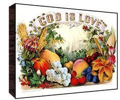 God is Love Wall Art