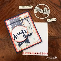 Stampin' Up - Lovely Inside & out - Daisy Delight - Lovely Words Thinlits - i♥Cards2 - Fab Friday 110