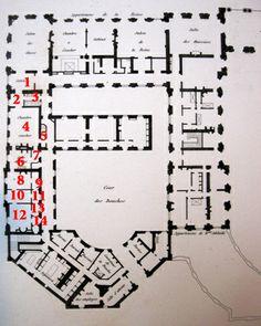 Chateau De Pierrefonds Blueprints Other French Chateaux