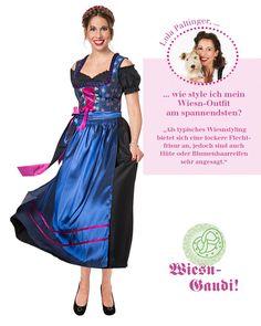 Onlineshop: http://www.hse24.de/Thema/Mode/Dirndl-Trends-zum-Oktoberfest.html?mkt=som&refID=pinterest/Mode/Wiesn-Special&emsrc=socialmedia Trachtenmode Wiesn Outfits #fashion #style #trend #clothing #accessoires #shopping