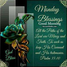 Monday Blessings, Good Morning