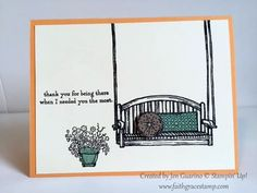 Quick and Easy card that is perfect in a variety of different colors!