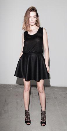 Lola Skirt by BlackBow #designer #fashion #poland #moda #trends #style #black
