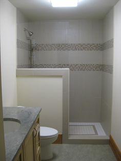 Copy Of 2nd Fl Shower Half Wall Toilets Shower Walls