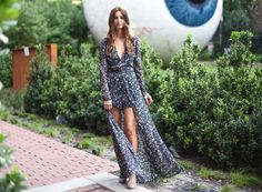 CURATED x LTS. tall girl romper. floral playsuit. dallas fashion