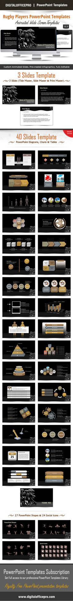 Impress and Engage your audience with Muscle PowerPoint Template - water powerpoint template