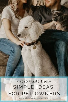 Zero-Waste Tips for Pet Owners: Simple ways to love an eco-friendly dog or cat that won't cost you any extra time or money Leiden, Pet Allergies, Pet Odors, Asthma, Zero Waste, Dog Friends, Pet Care, Dog Love, Best Dogs
