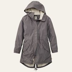 Shop Timberland for the Pine Mountain women's waterproof parkas - look good in bad weather.