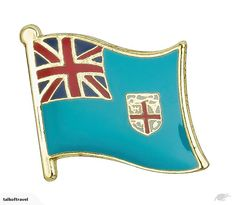 Fiji flag badge flag lapel pins country flag badges enamel pin brooches    Backing: Butterfly button  Size: 19*16mm  Package: 1pc/poly bag  Material: Iron +Bras...