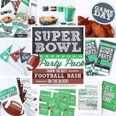 """AHHH! The SUPER BOWL is almost here!! Let's be honest I'm the MOST excited about the commercials... don't tell the hubby! We have sooooo many fun ways to make this Super Bowl the BEST yet! I. Can't. Even. Spoiler Alert - the commercial judging paddles are my FAV!! You kinda HAVE to check it all out! I'm telling ya! Just search """"Super Bowl Party Pack"""" on our site OR go here: http://ift.tt/1V6DMa9  #SuperBowlFunForDays #CommercialItUp #BestFootballBashOnTheBlock #datingdivas by datingdivas"""