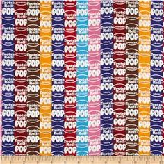 Tootsie Roll Blow Pop Striped Logo Multi