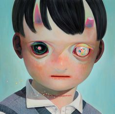 Hikari Shimoda - Whereabouts of God 4 - 2013 - oil on canvas - 727mm×727mm