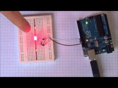 Arduino Tutorial #1 - Digital Inputs and Outputs - Button & LED - YouTube