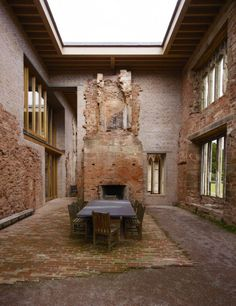 Astley Castle, England, Witherford Watson Mann architects