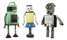Awesome: Robots Made from Thrift Store Finds!