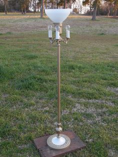 Refinished Antique Floor Lamp | Junktiques | $88.00