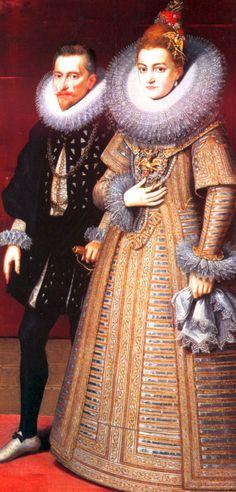 L'archiduc Albert et l'infante Isabelle-Claire-Eugénie, gouverneurs généraux des Pays-Bas