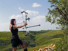 Bows, Archery, Girl