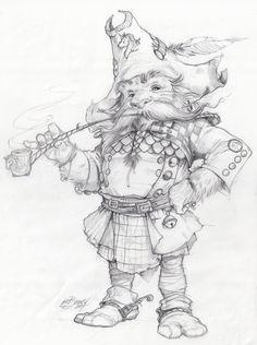 Sketch of Stargazer Captain Woodruff. Stargazers art of Fairy Drawings, Fantasy Drawings, Fantasy Kunst, Fantasy Artwork, Pencil Drawings, Animation Sketches, Art Sketches, Art And Illustration, Concept Art Books