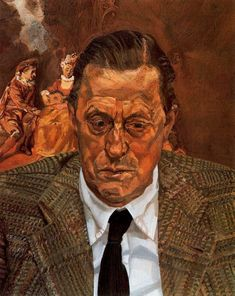 Head of a Man Artist: Lucian Freud Start Date: 1981 Completion Date:1982 Style: Expressionism Genre: portrait Technique: oil Material: canva...