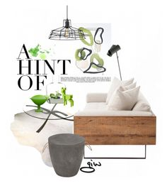 """a hint of..."" by ian-giw ❤ liked on Polyvore featuring interior, interiors, interior design, home, home decor, interior decorating, Dot & Bo, iittala, Zuo and Whiteley"