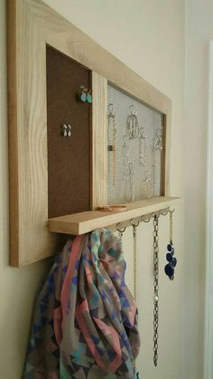 Hey, I found this really awesome Etsy listing at https://www.etsy.com/listing/270205936/jewelry-wall-display