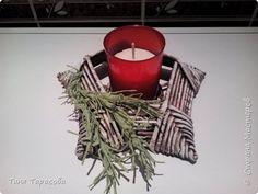 Мастер-класс Поделка изделие Новый год Плетение Подсвечник-звезда с плетеным основанием Бумага газетная Трубочки бумажные фото 1