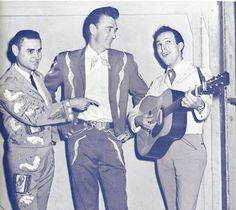 George Jones , Carl Smith & George Riddle