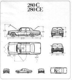 mercedes  280ce coupe