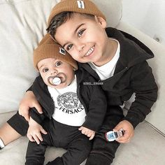 Cute Outfits For Kids, Toddler Outfits, Baby Boy Outfits, Cute Kids, Cute Babies, Dad Baby, Baby Kids, Beautiful Children, Beautiful Babies