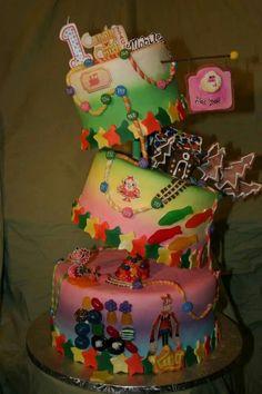 Candy Crush cake! Amazing!