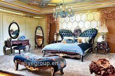 Lüks yatak odası mobilya kraliyet İtalyan tasarım 24 K altın kaplama yatak odası set klasik ahşap ve bronz yatak odası mobilya-resim-Yatak Odası Takımları-ürün Kimliği:60478584003-turkish.alibaba.com
