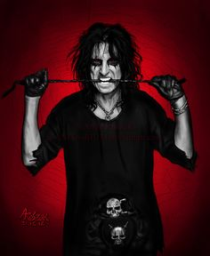 "Alice Cooper  ""GO TO HELL""                                          By: s-anita-rium on deviantart"