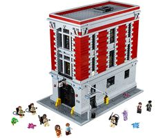LEGO 'Ghostbusters' Firehouse Headquarters Set Complete With Character Minifigs
