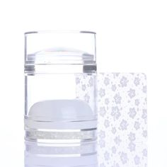 Dual head clear jelly stamper with bling (AliExpress)