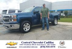 https://flic.kr/p/HrTcdh | Happy Anniversary to Chad on your #Chevrolet #Silverado 1500 from Todd Wells at Central Chevrolet Cadillac! | deliverymaxx.com/DealerReviews.aspx?DealerCode=A020