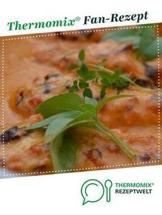 Hähnchenbrustfilet überbacken mit Gorgonzolasauce von DaniplusSahne. Ein Thermomix ® Rezept aus der Kategorie Hauptgerichte mit Fleisch auf www.rezeptwelt.de, der Thermomix ® Community.